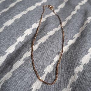 14 K Gold Ankle Bracelet